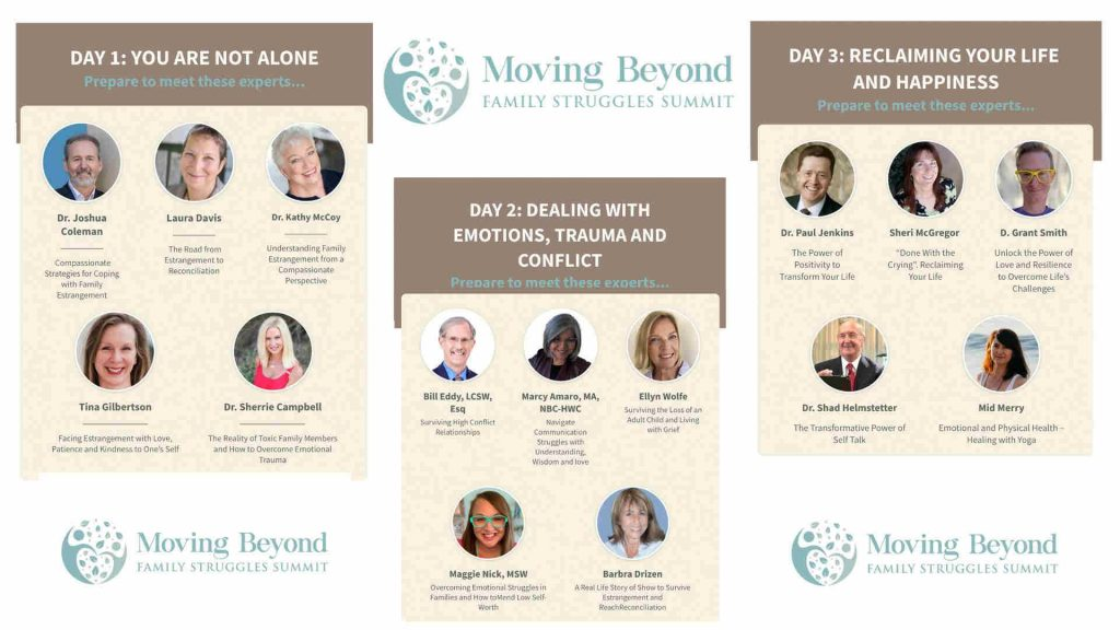 Moving Beyond Family Struggles Summit 2021